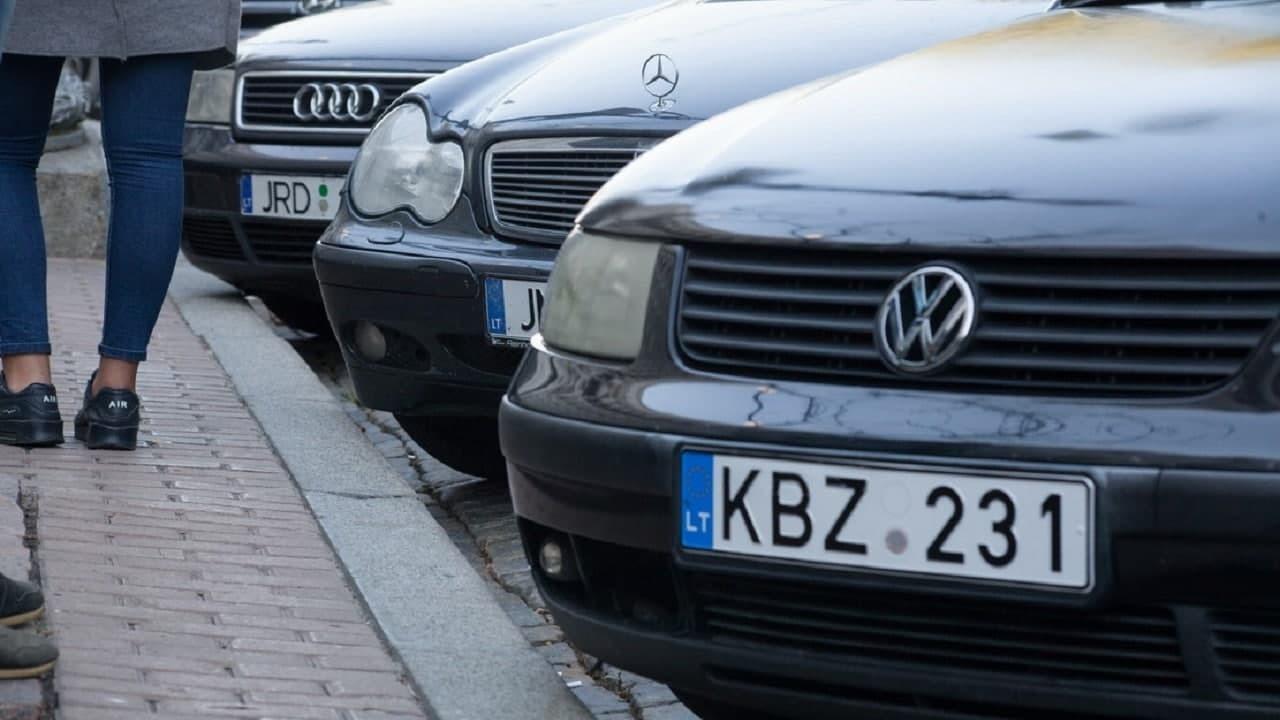 Владельцы автомобилей на еврономерах начнут получать огромные штрафы