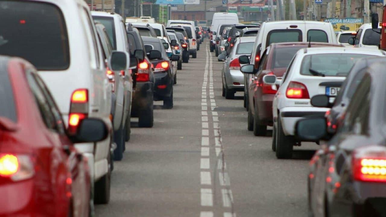 Украинские города вошли в мировой рейтинг с самыми крупными пробками