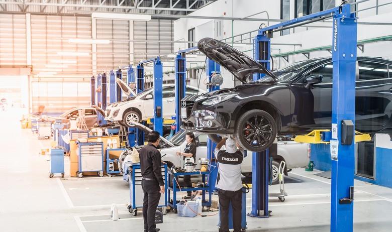 Комплексная диагностика Mazda со скидкой 50%